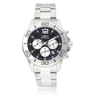 Invicta Men's 17398 Stainless Steel 'Pro Diver' Chronograph Watch