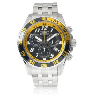 Invicta Men's 14510 Stainless Steel 'Pro Diver' Chronograph Watch