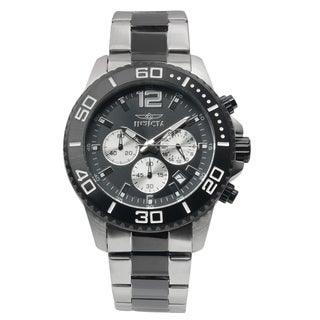 Invicta Men's 17401 Stainless Steel 'Pro Diver' Quartz Chronograph Watch