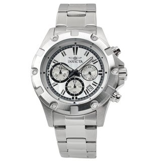 Invicta Men's 15602 Stainless Steel 'Specialty' Quartz Chronograph Watch