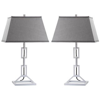 Thom Filicia Indoor 1-light Winter White Jamesville Table Lamp (Set of 2)