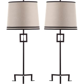 Thom Filicia Indoor 1-light Blacksmith Bronze Hanover Table Lamp (Set of 2)