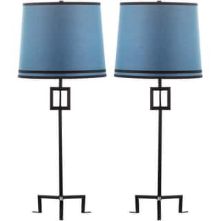 Thom Filicia Indoor 1-light Midnight Black Hanover Table Lamp (Set of 2)