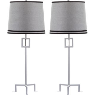 Thom Filicia Indoor 1-light Winter White Hanover Table Lamp (Set of 2)