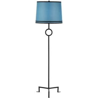 Thom Filicia Indoor 1-light Midnight Black Shotwell Floor Lamp