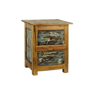 Hand-crafted Lyon Distressed Plant Stand