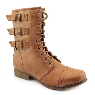Madden Girl Women's 'Ginghamm' Faux Leather Boots