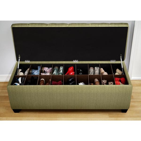 The Sole Secret Shoe Storage Bench - Candice Ivy