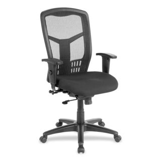 Lorell Black Mesh High-back Executive Chair