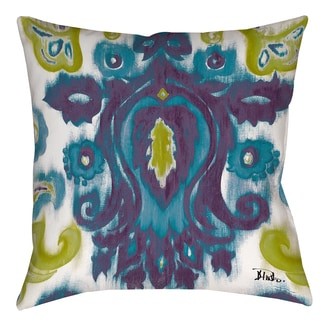 Radiant Transitions 19-inch Throw Pillow