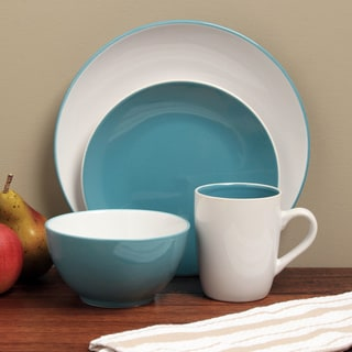 Sofia Blue/ White 16-piece Dinnerware Set