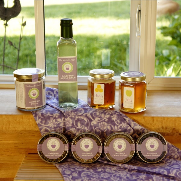 The Lavender Apple Lavender Gourmet Cooking Gift Crate and Recipes
