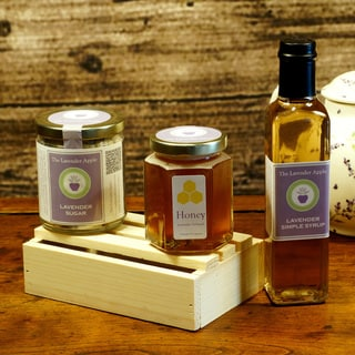 The Lavender Apple All-Natural 'Sweet'n It Up' Gourmet Lavender Gift Crate