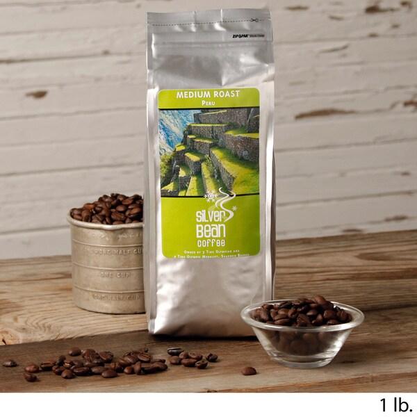 Silver Bean Coffee Company Peru Medium Roast Coffee