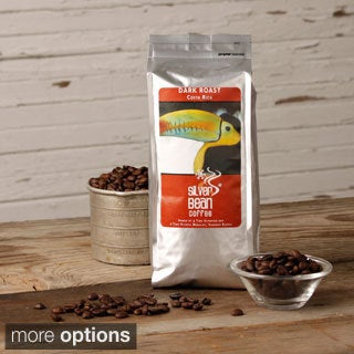Silver Bean Coffee Company Costa Rica Dark Roast Coffee