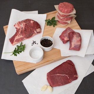 5280 Beef 100-percent Grass-fed Grass-finished Beef Grill Bundle