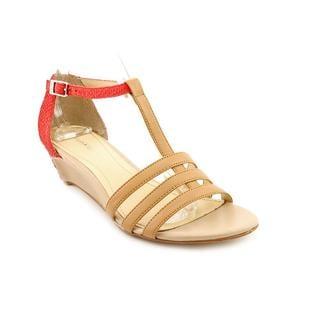 Calvin Klein Women's 'Ellie Cale' Leather Sandals