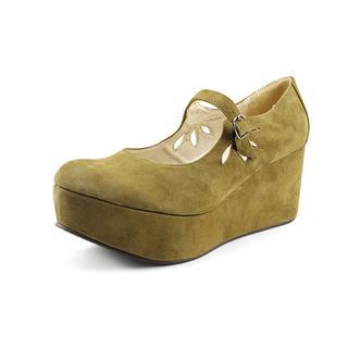 All Black Women's 'Hi-Rise Jane' Leather Dress Shoes