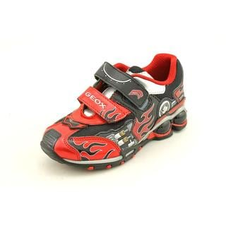 Geox Boy (Toddler) 'J Fighter 2' Leather Athletic Shoe