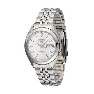 Seiko Men's 5 SNKL15K1 Stainless Steel Automatic Watch