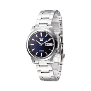 Seiko Men's 5 SNK793K1 Stainless Steel Blue Dial Watch
