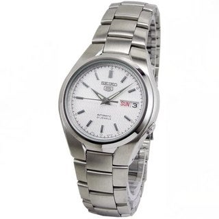 Seiko Men's 5 SNK601K1 Stainless Steel Automatic Watch