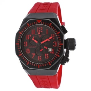 Swiss Legend Men's Trimix SL-10540-BB-01-RDAS Black/ Red Watch