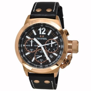 TW Steel Men's TWS-CE1023 'CEO Canteen' Rose Gold Watch