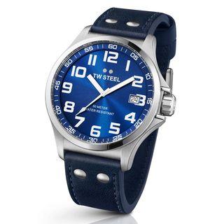 TW Steel Men's TW400 'Pilot' Sunray Blue Watch