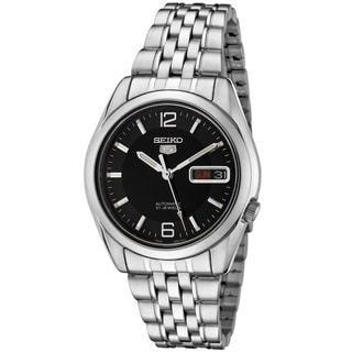 Seiko Men's SNK393K1 5 Automatic Black Watch