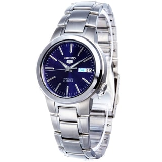 Seiko Men's SNKA05K1 5 Automatic Blue Dial Watch
