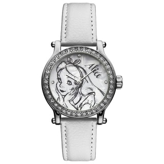 Ingersoll Disney 'Alice in Wonderland' White Watch