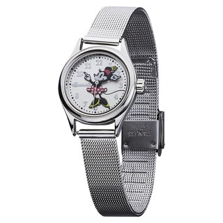 Ingersoll Disney 'Petite Minnie' Milanese Watch