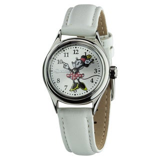 Ingersoll Disney 'Petite Minnie' White Watch