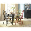 Signature Design by Ashley Shanilee Black/Brown Round Dining Room Table