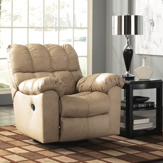 Signature Designs by Ashley Max Chamois Swivel Rocker Recliner