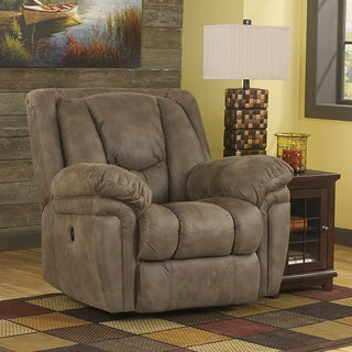 Signature Design by Ashley Blagden Tan Rocker Recliner
