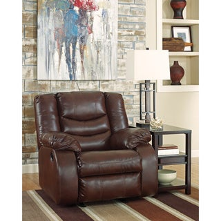 Signature Design by Ashley Linebacker DuraBlend Espresso Rocker Recliner