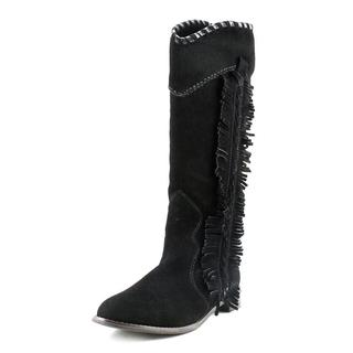 All Black Women's 'Annie O' Leather Boots