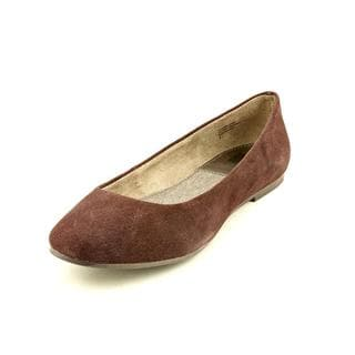BC Footwear Women's 'Limousine' Regular Suede Casual Shoes (Size 7.5 )