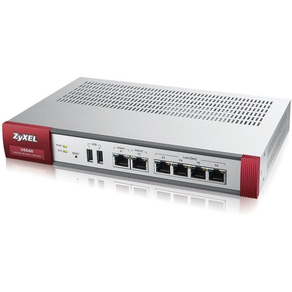 ZyXEL USG60-NB Next-Generation USG Firewall, Hardware Only