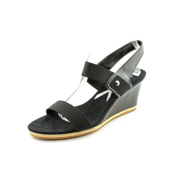 Anne Klein Sport Women's 'Florence' Basic Textile Sandals