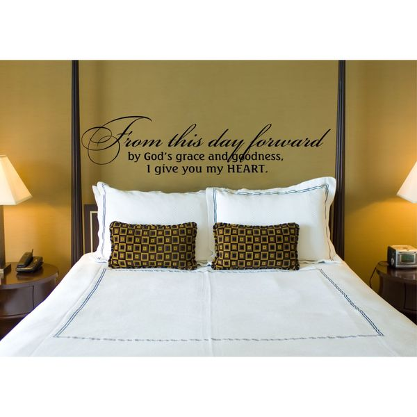From this day forward Vinyl Wall Art