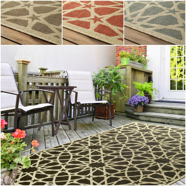 nuLOOM Indoor/ Outdoor Porch Rug (9' x 12')