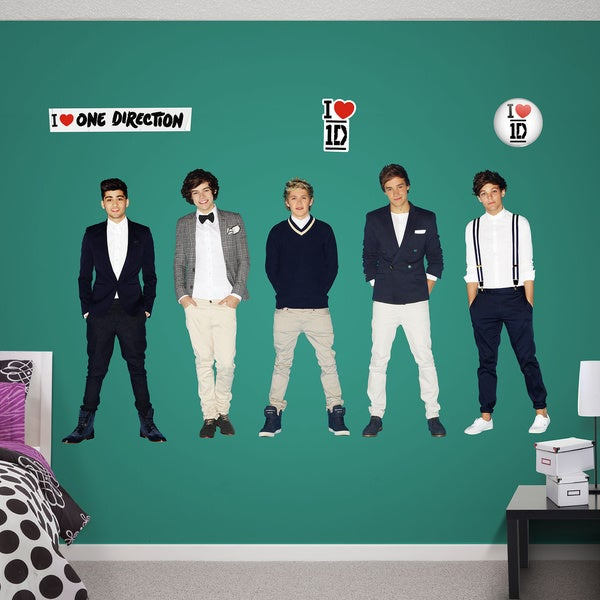 Fathead One Direction Wall Decals