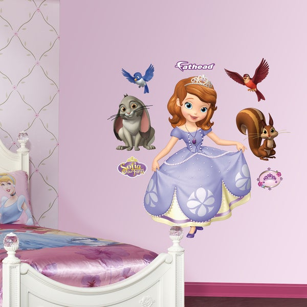 Fathead Sofia the First Collection Wall Decals