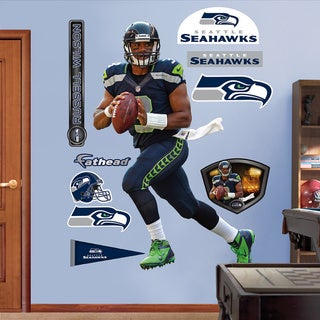 Fathead Russell Wilson Wall Decals