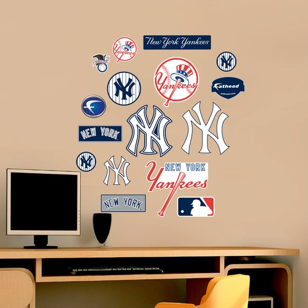 Fathead Jr. Yankees Logosheet Wall Decals