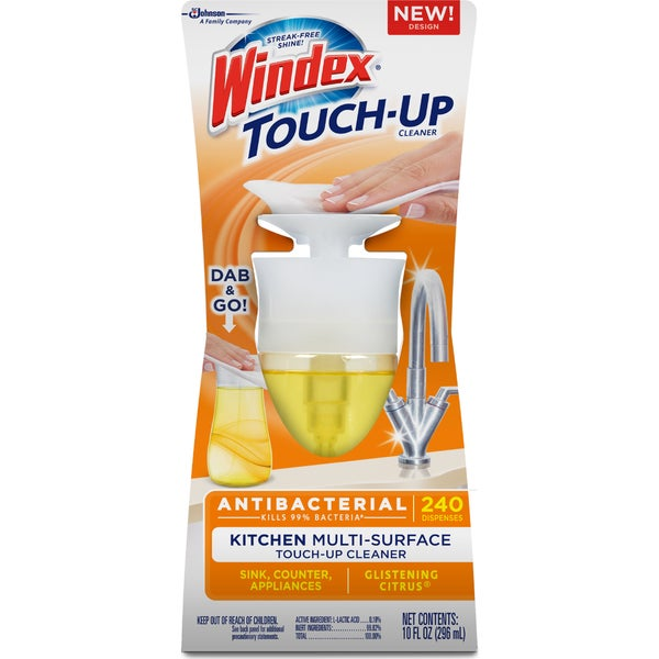 Windex 10-ounce Glistening Citrus Multi-surface Touch-up Kitchen Cleaner (4-pack)