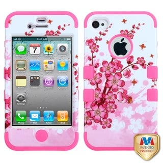 BasAcc High Impact Dual Layer Hybrid Case Cover for Apple iPhone 4/4s